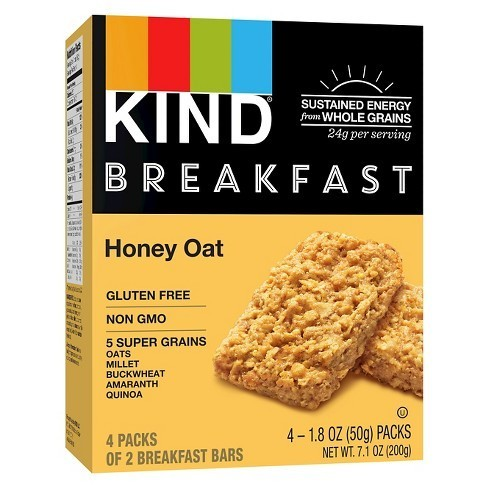 KIND - Breakfast - Honey oat