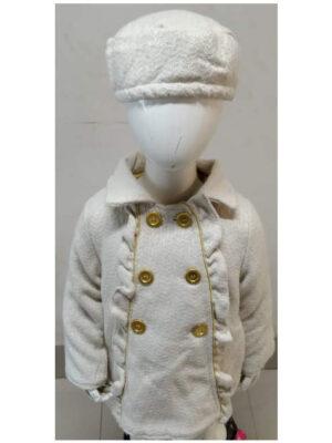 bizfete-apparel-girls-coat with Hat - 20103