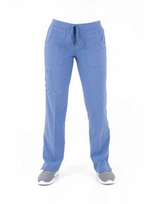 bizfete-apparel-women -cargo pant-ceilblue