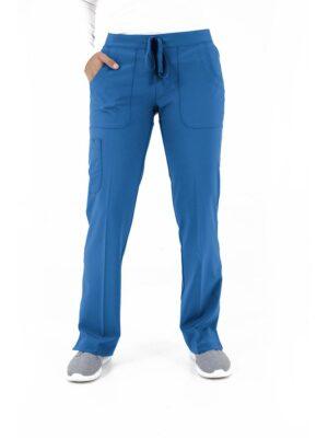 bizfete-apparel-women -cargo pant-royalblue