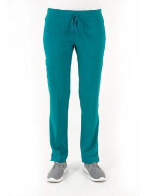 bizfete-apparel-women -cargo pant-teal