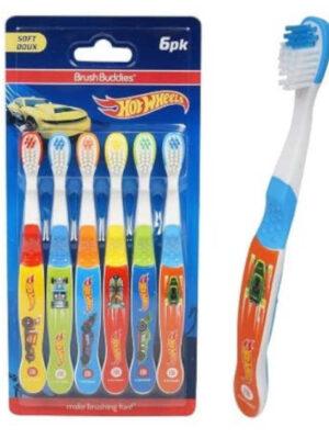 Hot wheel tooth brush